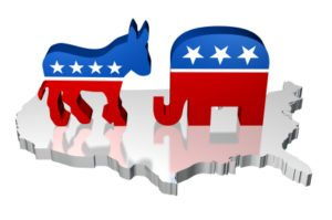 republican-democrat-battle